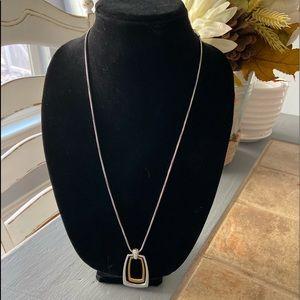 Brighton Silver & Gold Tone Necklace